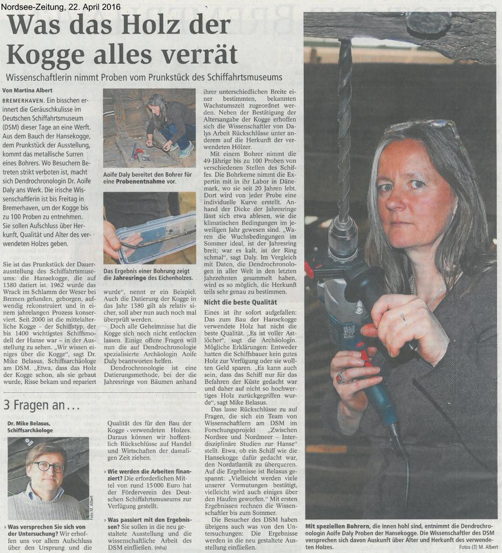 nordseezeitung 22-04-2016